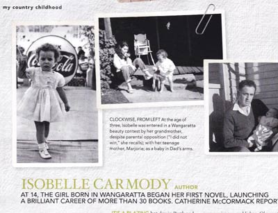 Country Style interview with Isobelle Carmody