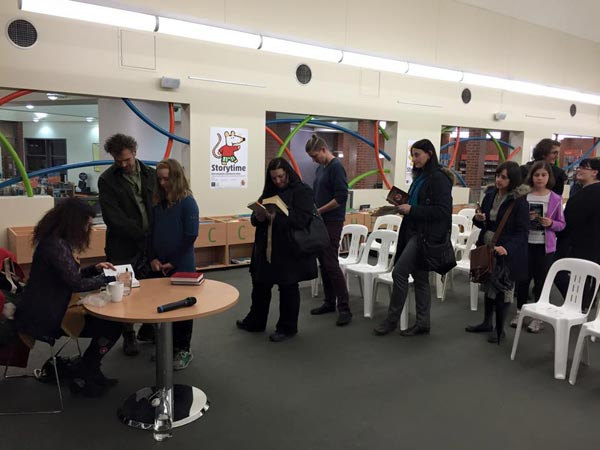Isobelle Carmody Northcote Library visit, May 22 2015