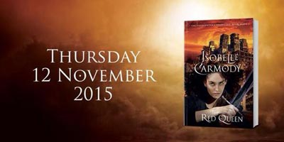The Red Queen Obernewtyn Chronicles release date 12 November 2015
