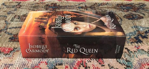 The Red Queen by Isobelle Carmody in print